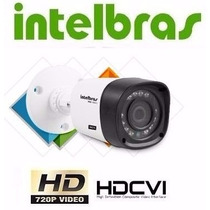 Camera Intelbras Infra Hdcvi 720p Hd Vhd 1020b 3,6 Mm 20 Met