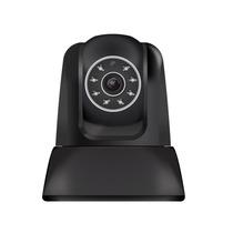 Câmera Ip Wi-fi Infra Comtac 9267 Preta