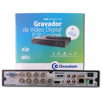 Dvr Stand Alone Greatek Gtk-dvr-08a H.264 Hdmi Full Wd1 P2p