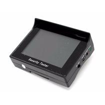 Testador De Câmeras De Cftv Com Monitor Color Cftv Tester