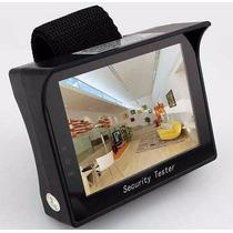 Testador De Câmeras De Cftv Com Monitor - Cftv Tester 4.3