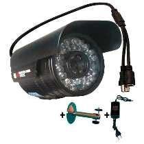 Camera Infra Ccd Sony 12mm Visualizar Placa De Carro