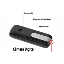 Spy Pendrive Mini Camera Espiao Pen Drive