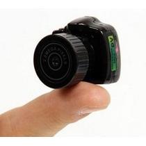 Mini Camera Espiã Filmadora Hd Camuflada Sem Fio