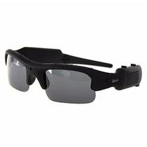 Óculos De Sol Com Câmera Espião Sport Hd Leadership