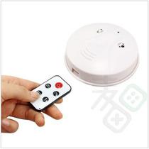 Detector De Fumaça Espião Com Câmera Escondida-áudio E Vídeo