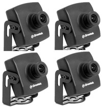 04 Uni Kit Mini Camera Greatek Digital 480 Linhas Real 3,6mm