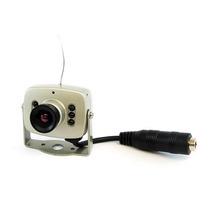 Mini Câmera Sem Fio Wireless Distância 100mts Completa Color