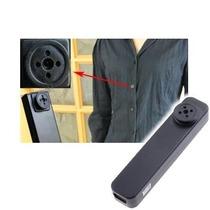 Botão Espião Micro Camera Escondida Igual Caneta Espiã 8gb