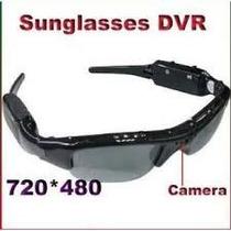 Óculos De Sol Espião Câmera Filmadora Hd E Tira Fotos !!!