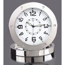 Relógio De Mesa Espião - C/ Defeito P/retirar Peças