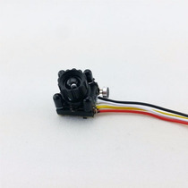 Mini Câmera Hd Cctv Áudio Ir 4 Led Visão Noturna Fpv