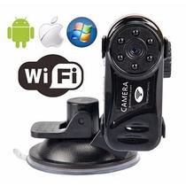 Mini Câmera Spycam Espiã Wifi Ip Hd Ir Visão Noturna + 16gb