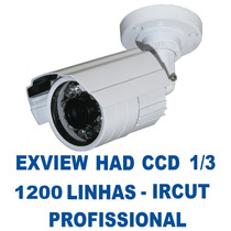 Camera Ir-cut Infra Noturna 30 Mt Ccd Sony 1/3 1000 Linhas