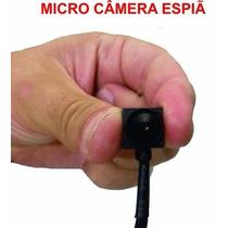 Micro Câmera Espiã Visão Noturna / Microfone -
