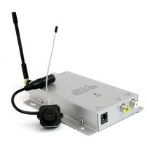 Micro Câmera Wireless Pinhole Color Sem Fio Espião Espiã