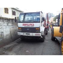 Caminhão Cargo 95 1617 Truck Com Plataf. P.carregar Maquinas