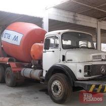 Caminhão Mb 2219 Com Betoneira Trabalhando Tenho Vários Mod