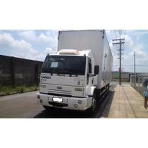 Caminhao Ford Cargo 1717 Truck Com Bau De 10.70 Mtrs