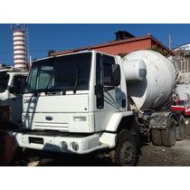 Ford Cargo Traçado Betoneira De Concreto Pronto Para Trabalh