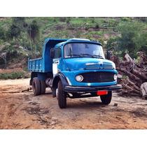Caminhão Mercedes-benz 1313 Turbinado Basculante-toco