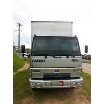 Ford Cargo 815 4x2 Ano 2006 Com Baú