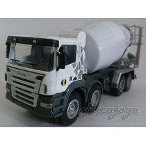 Caminhão Scania Concreteira Hy Truck 1/50 Metal Lindo Novo
