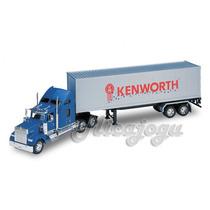 Kenworth W900 1/32 Welly Caminhão Carreta Volvo Mercedes