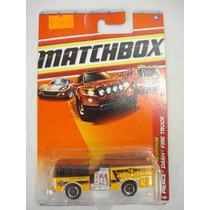 Matchbox Pierce Dash Fire Truck - Bombeiros