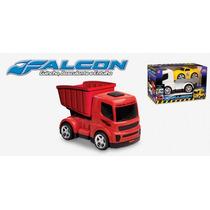 Caminhão Falcon Truck Basculante Usual Plastic , Imperdível!