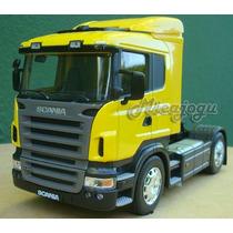 Scania R470 1/32 Welly Promoção Limitada Volvo Mercedes