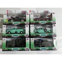M2 Lote Completo Com 6 Miniaturas, Dodge, Studebaker, Apache