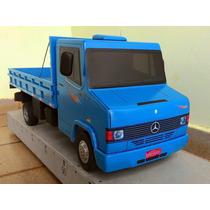 Caminhão Mercedes-benz 710 Brinquedo Madeira