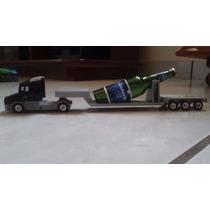 Caminhão Scania Carreta Prancha Coleção Replica 1/87