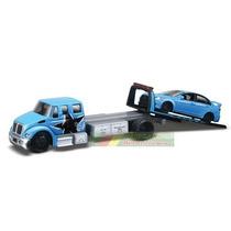 Caminhão Durastar + Mitsubishi Lancer 1:64 Maisto