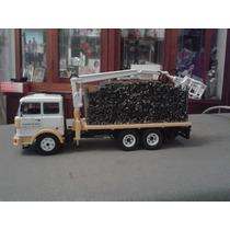 Miniatura Caminhão Fiat 190 H C/ Madeira - 1:43 - Novo !!!