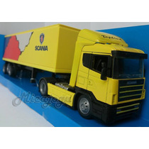 Scania Top Line Baú 1/43 New Ray Baú Volvo Iveco Mercedes
