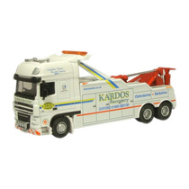 Diecast Model - Oxford 1:76 Kardos Truck Recovery Daf