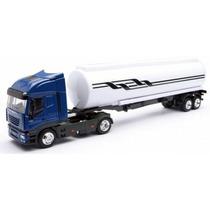 Miniatura Caminhão Iveco Stralis Trans. Petroleo 1:43 Newray
