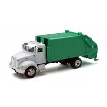 Miniatura Caminhão Peterbilt 335 Transp. Lixo1:43 New Ray