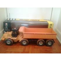 Caminhão Basculante King Size Controle Remoto.
