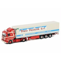 Mini Scania R113/r143 Streamline Reefer 1:50 Wsi Models
