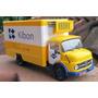 Miniatura Caminhão Mercedes 1113 Tempos Kibon 1/43 Altaya