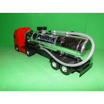 Caminhão Tanque Com Bomba De Agua Comp41cm Larg08cm