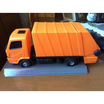 Caminhão De Lixo Caminhão Brinquedo Limpeza Publica Coleta