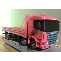 Caminhão Bitruck Scania Constellation Volvo Com Giro