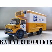 1:43 Caminhão Mercedes-benz - Kibon - L1113 - Caminhões Br