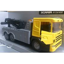 Scania R124/400 Guincho 1/32 New Ray Caminhão Volvo Mercedes