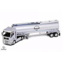 Man Tg510a Tanque 1/32 Welly Caminhão Carreta Volvo Scania