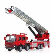 Caminhão Bombeiro Kdw 1/50 Metal Kaidiwei Scania Volvo Fire